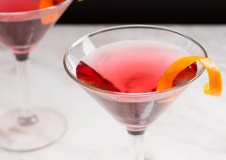 recette Cosmopolitan cocktail