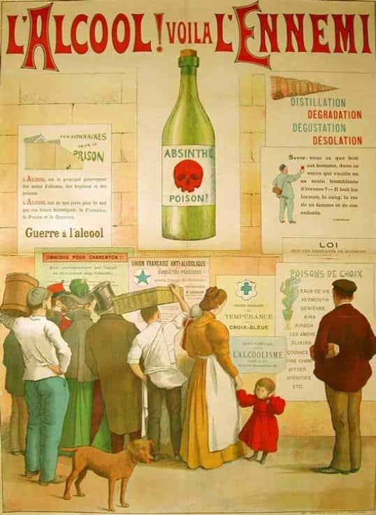 alcool absinth