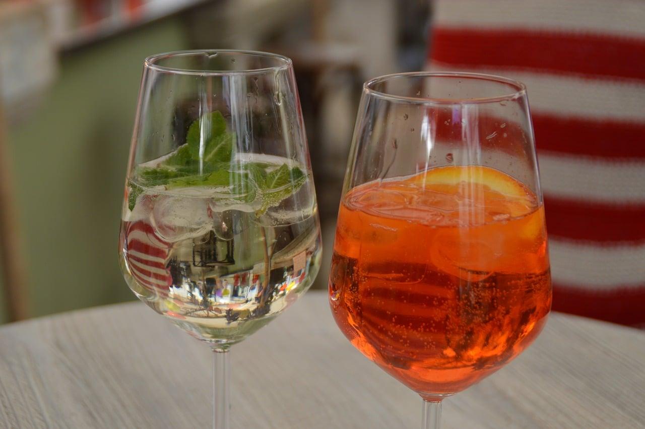 Les boissons spiritueuses