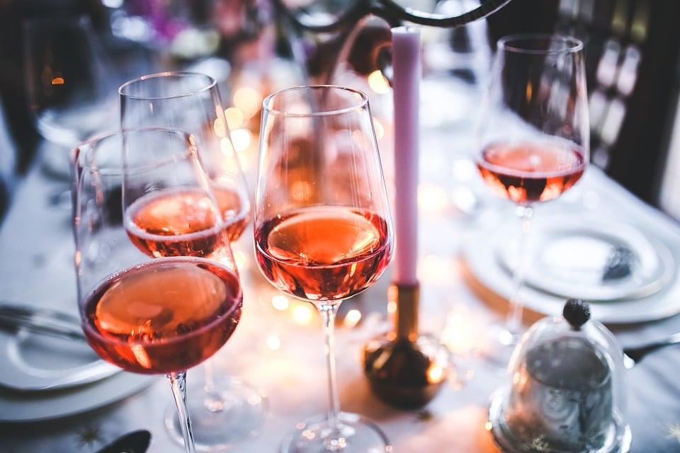cocktail vin rosé