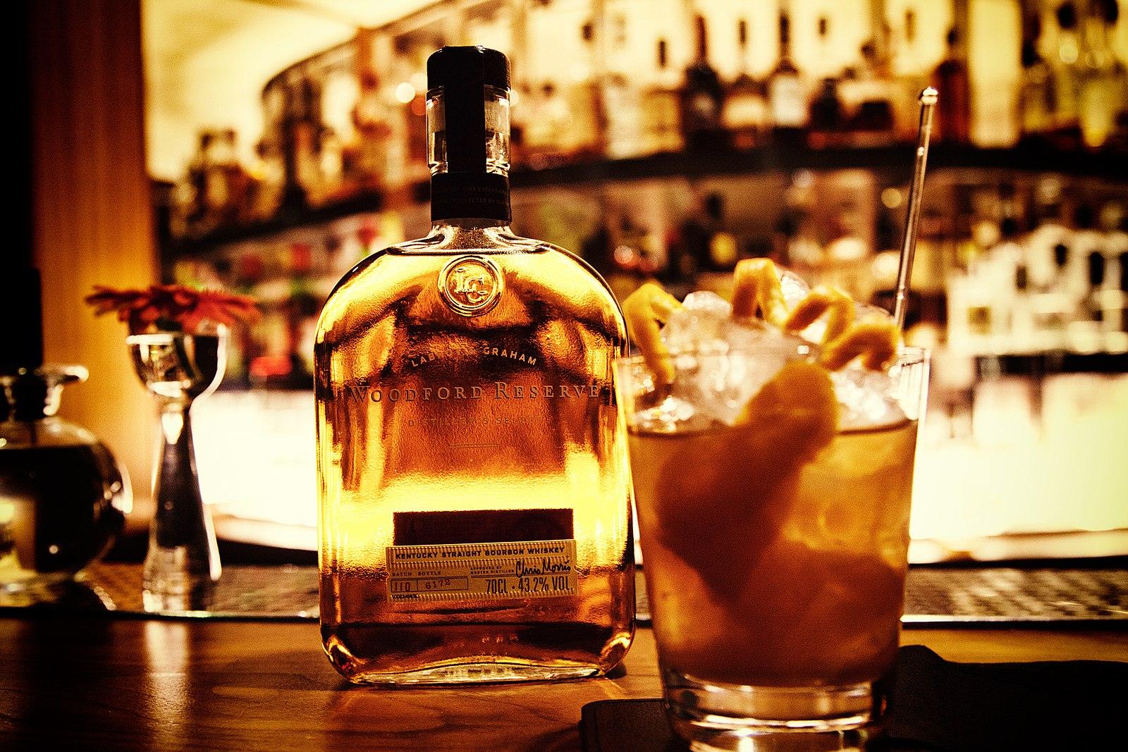 Cocktail Old Fashioned Avec Sirop De Pomme Fait Maison