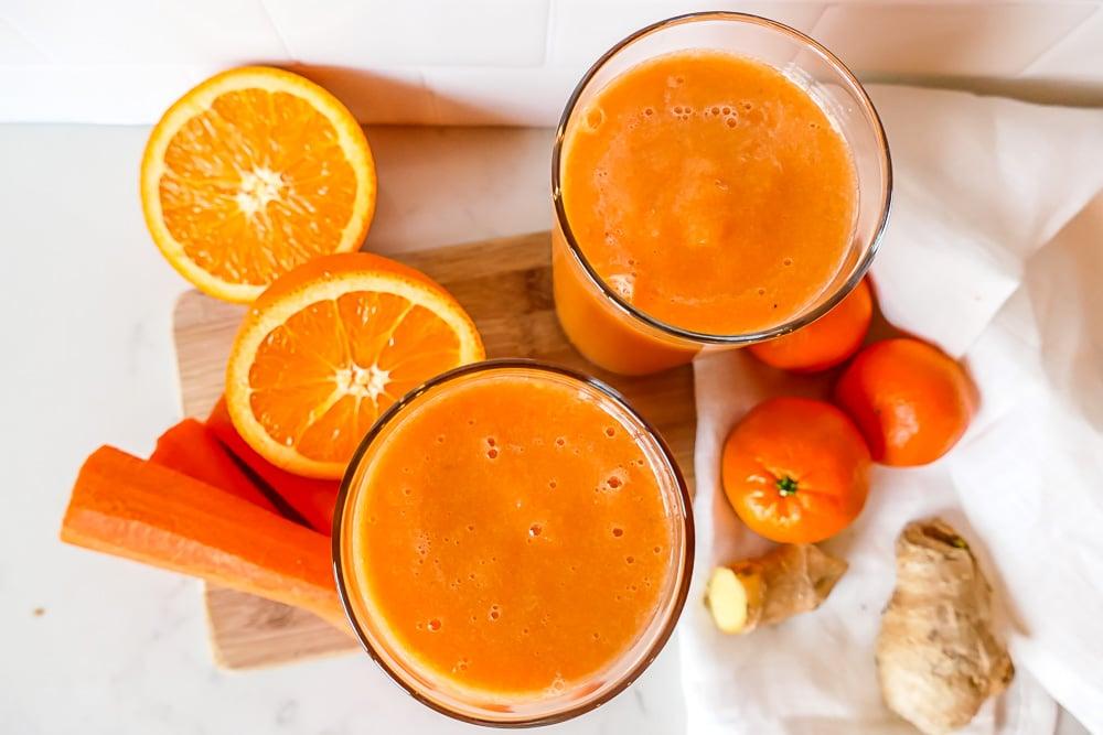 smoothie carotte orange